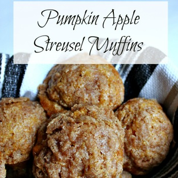 Pumpkin Apple Streusel Muffins: Muffin #8 - A Touch of Grace
